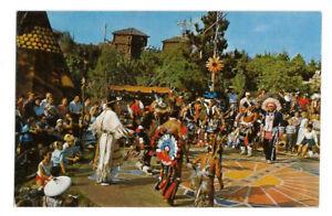 Frontierland Indian Village, Disneyland vintage postcard Anaheim, CA