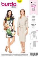 Burda Style Sewing Pattern 6322 Misses' dress-Super Easy