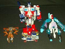 Transformer Lot Of 3 Hasbro Takara Optimus Prime 2006