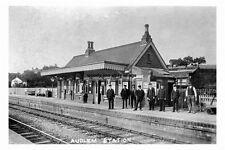 pt1290 - Audlem Railway Station , Cheshire - photograph 6x4