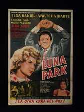LUNA PARK * BOX * WALTER VIDARTE * ARGENTINE 1s POSTER