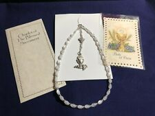 "HAND-MADE ""BLESSED SACRAMENT CHAPLET"" for THOSE UNABLE TO GO TO CHURCH! NEW"