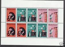 Nederland jaargang 1967 compleet met blok postfris (MNH)