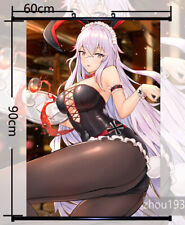 Anime Azur Lane Graf Zeppelin Wall Scroll Home Poster Holiday Gift 60*90CM#1017