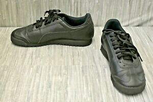 Puma Roma Basic 353575-17 Casual Shoes, Men's Size 8.5M, Black