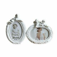 Photo Frame Angel White Oval Resin Picture Frame Home Office  Bedroom Decor