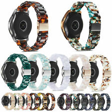 20mm Resin Bracelet Band for Samsung Galaxy Watch 42mm Active 2 40mm 44mm Strap