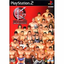 Used PS2 King of Colosseum: All Japan X New Japan X Pancrase Japan Import