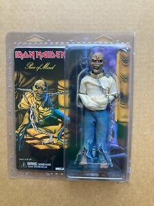 """NECA Iron Maiden """"Eddie"""" Piece Of Mind Clothed 8"""" Action Figure"""