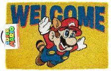 Super Mario Welcome Door Mat
