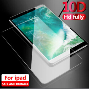 """2 x iPad 7th 8th Generation 10.2"""" 2019 2020 Tempered Glass Screen Protector 10D"""