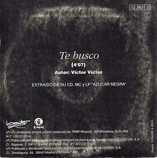 "CELIA CRUZ ""TE BUSCO"" RARE SPANISH PROMOTIONAL CD SINGLE / VICTOR VICTOR"