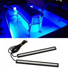 Boat Car waterproof blue Marine Led Light Courtesy & Utility Strip DC 12V 2Pcs