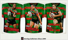 2009 Select NRL Classic Holofoil Jersey Die Cut Card Team Set Rabbitohs (6)