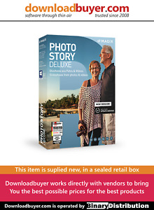 MAGIX Photostory 2020 Deluxe - [Boxed]
