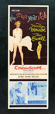 7 SEVEN YEAR ITCH * CineMasterpieces MARILYN MONROE ORIG MOVIE POSTER