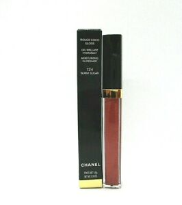 Chanel Rouge Coco Gloss Moisturizing Glossimer ~ 724 Burnt Sugar ~ 5.5 g /BNIB