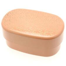 1pc Japanese Salmon Pink/Gold Sakura  Bento box  #280-305