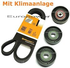 V-RIBBED BELTS SET + TENSION PULLEY MERCEDES A CLASS W168 160 170 1.7 CDI