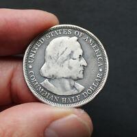 Pièce Argent USA Demi dollar 1893 Exposition Christophe Colomb à Chicago