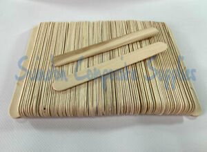 100 x  WOODEN RESIN PAINT THINNER MIXING STICKS 150 x 18mm