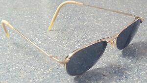 Oliver Peoples Thin Metal Silver Designer Glasses Frames Made in Japan