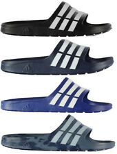 ADIDAS DURAMO SLIDE MENS FLIP FLOPS/SANDALS Black & Navy
