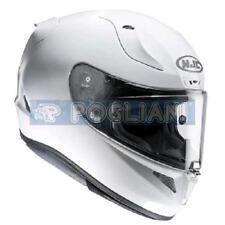 CASCO MOTO INTEGRALE HJC RPHA 11 METAL WHITE/  BIANCO PERLA 132029 TAGLIA XS