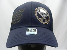 BUFFALO SABRES - NHL - REEBOK - S/M SIZE STRETCH FIT BALL CAP HAT!