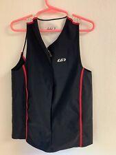 Louis Garneau Women's Comp Sleeveless Tri Top for Triathlon. Size: S
