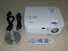 NEC NP400 2600 Lumens XGA LCD Projector Data/Video/VT/HDTV/HD-Ready Projector