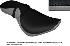 Negro Y Gris personalizado se adapta a Kawasaki Vn 800 Vulcan Doble Cubierta De Asiento
