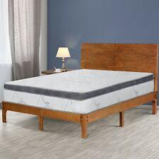 "SLEEPLACE 12"" Euro Memory Foam Top Spring Mattress, Bedroom,"