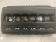 Motorola WPLN4211B V3.11 Impres Multi 6-bank Adaptive gang Charger for XPR +AC