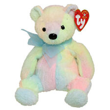 TY Beanie Baby - MELLOW the Ty-Dyed Bear (7.5 inch) - MWMTs Stuffed Animal Toy