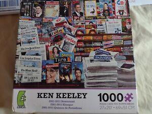 Ken Keeley 2001-2011 Newsstand 1000 piece Puzzle