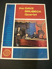 The Dave Brubeck Quartet Souvenir Book with Expo '67 Jazz Fest program
