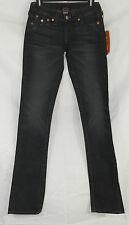 True Religion NEW Size 24 Billy Low Rise Straight Leg Dark Wash Jeans