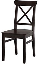 IKEA INGOLF 6 Stühle in sehr gutem Zustand. Braunschwarz. Ca 2 J alt