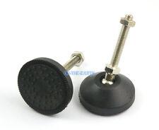 4 Pcs 50mm Swivel Base M8*50mm Adjustable Lathe Leg Articulating Leveling Feet
