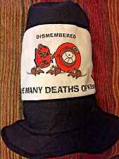 """SOUTH PARK """"The Many Deaths Of Kenny"""" 12 Inch Blk. Stovepipe Felt Hat Size Small"""