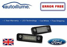 Ford Fiesta Mk6 LED Number Plate Light Units