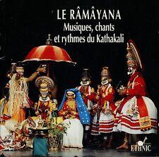LE RAMAYANA  musique, chants et rythmes du kathakali / AUVIDIS ETHNIC