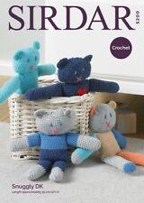 Sirdar Teds Bear Toy - Snuggly Double Knit DK - Crochet Pattern 5200
