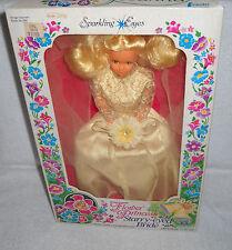 #9395 NRFB Vintage CREATA Flower Princess Starry Eyed Bride Leeanna Doll
