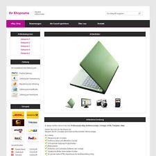 Professional eBay Auktionsvorlage | Vorlage | HTML Template | Lila