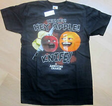 The Annoying Orange - HEY APPLE! KNIFE! T-Shirt (S/M/L/XL) Brand New in Bag