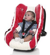 WALLABOO Ersatzbezug Schonbezug Sommer Bezug Babyschale /Maxi Cosi, warm red