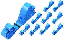 "JOB LOT 10 x 26"" RIM TAPES BLUE PLASTIC MTB ATB BIKES, OR ROADSTER CYCLES"