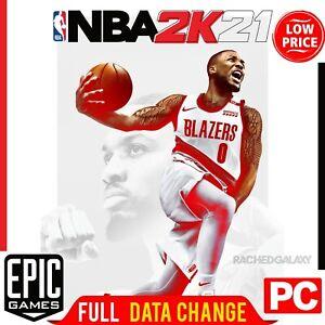 NBA 2K21 Epic Games PC ✅ LIFETIME WARRANTY • CHANGE MAIL ⚡+ BONUS GAMES